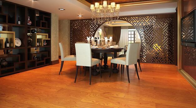 欧式风格的木地板颜色搭配