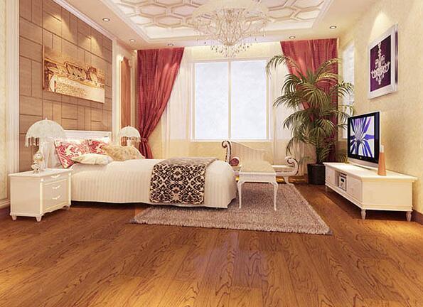 柚木被称为万木之王,世界公认的优质地板木材,是可以在海水浸蚀和阳光暴晒下不会发生弯曲和开裂的板材。更是世界上豪华宫殿、别墅等高级豪车的木材。而做为柚木地板,它的优点在于稳定、耐磨、防潮、防腐、防蛀、防酸碱。柚木地板是所有木材中干缩湿胀变形最小的一种,弹性好脚感舒适,是实木地板中的佳品。金色褐色至深褐色,大气、典雅,形成千姿百态的纹理结构,并且历久弥新,地板的颜色会随着时间的推移更加漂亮。   不同的设计风格,不同的居室会有不同的地板铺装风格。柚木的纹理结构和木纹,使得柚木非常适合于古典风格的装修设